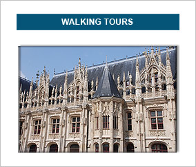 walking tours in normandy